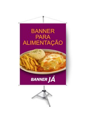 Banner para Alimentação, Crie On Line