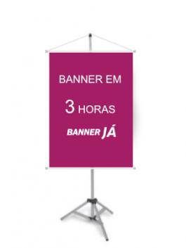 Banner em 3 horas