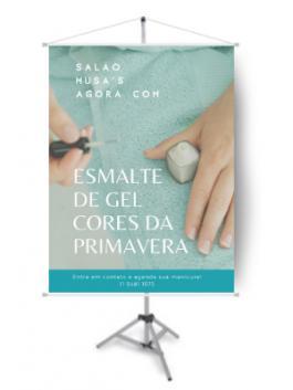 Banner Esmalte Gel Cores Da Primavera