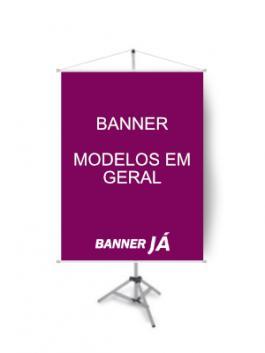 Banner Modelos em Geral, Crie On Line