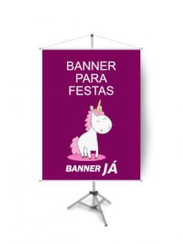 Banner para Festas, Crie On Line