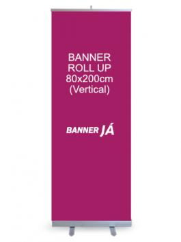 Banner Roll Up 80x200cm