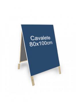 Cavalete para Comunicação  80x130cm