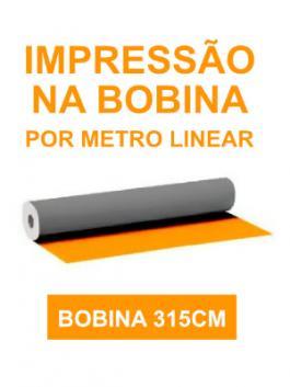 Lona 440g Impressa Por Metro Linear - Bobina 315cm