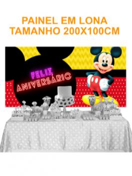Painel Aniversário Mickey