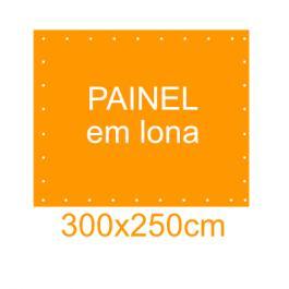 Painel em Lona 300x250cm  300x250cm