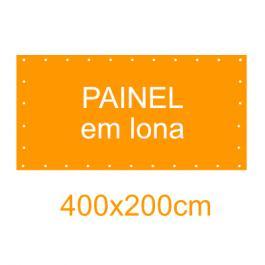 Painel em Lona 400x200cm  400x200cm