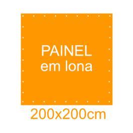 Painel em Lona 200x200cm  200x200cm