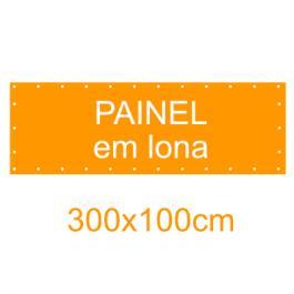 Painel em Lona 300x100cm