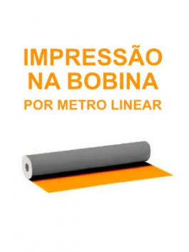 Lona Impressa Por Metro Linear