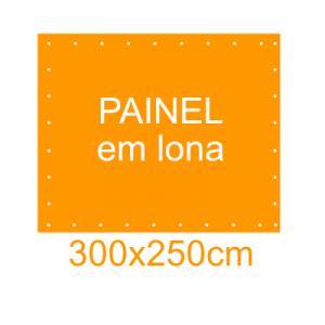 Painel em Lona 300x250cm