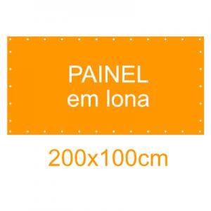 Painel em Lona 200x100cm
