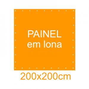 Painel em Lona 200x200cm