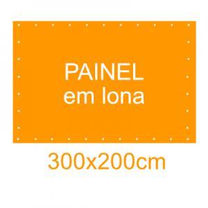 Painel em Lona 300x200cm