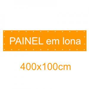 Painel em Lona 400x100cm