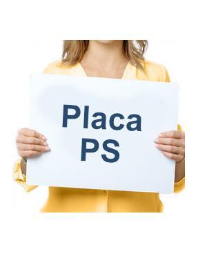 Placa PS 2mm Impressa